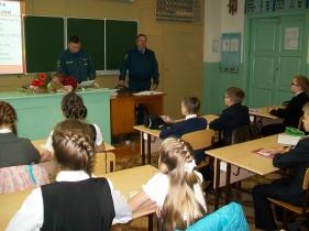 Уроки пожарной безопасности прошли в Немской средней школе